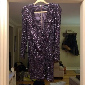 French Connection Sequin Party Dress